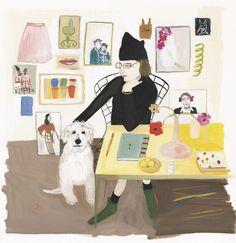 Interview 154: Maira Kalman, NYC-based artist, designer, illustrator, and writer. http://thegreatdiscontent.com/interview/maira-kalman (artwork by Maira)