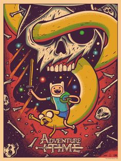 """""""Adventure Time"""" by Dave Quiggle"""