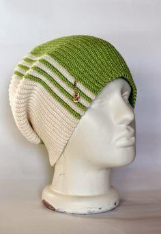 "Світ плетіння та казок від Marita: Шапка ""Лайм"" рядами вздовж Baby Sweater Knitting Pattern, Beanie Pattern, Hand Knitting, Crochet Slouchy Hat, Knitted Hats, Scarf Hat, Beanie Hats, Crochet Art, Custom Hats"