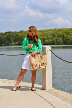 Bermuda Shorts, a Button-Down, and Birkenstocks, on A Lily Love Affair