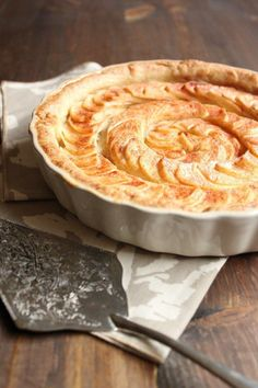 Apple Tart with Almond Paste Filling - Wild Wild Whisk Almond Recipes, Apple Recipes, Holiday Recipes, Christmas Recipes, Just Desserts, Dessert Recipes, Almond Paste, Sweet Breakfast, Sweet Tarts