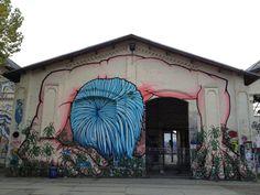 Grafity art in Ost-Berlin. Bijzonder, wat een artiesten!