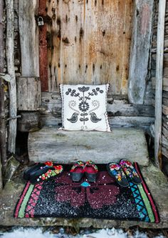 """""""Lill"""" wool doormat – Home - in Muhu style – GUDRUN SJÖDÉN – Webshop, mail order and boutiques 