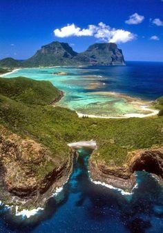 Lord Howe Island, Isla de Lord Howe