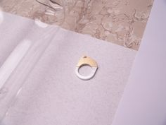 II. [BRASS] You shall stay classy. Ring / Size: 24 x 32mm / Ring-size: 17,3mm
