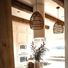 Handgemachte Rattan Lampe Wicker Lampe Boho Stil Lampenschirm | Etsy Rattan Lampe, Boho Stil, Master Bathroom, Boho Fashion, Wicker, Kitchen Design, Cushions, Farmhouse, Etsy