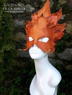 Leaf mask de Ayalga en Etsy