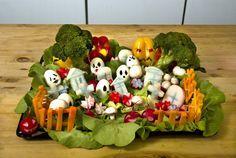 Halloween Rezepte: Gemüse Friedhof - Halloween.de