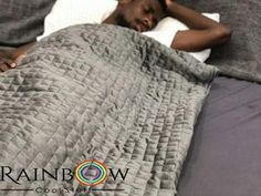 15lb Weighted Blanket – Rainbow Cool Stuff