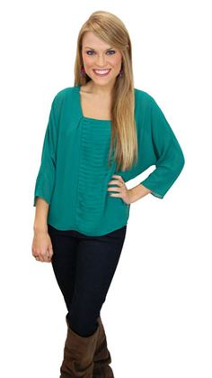Such an easy blouse and it's only $39! www.shopbluedoor.com  #shopbluedoor