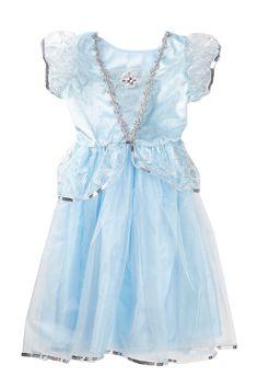 Little Adventures Blue Princess Dress