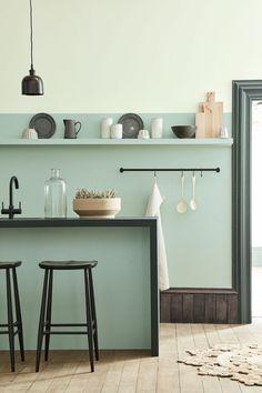 Peinture Little Greene : nouveau nuancier - Trend Pins Peinture Little Greene, Little Greene Paint, Interior Design Kitchen, Kitchen Decor, Kitchen Ideas, Kitchen Inspiration, Kitchen Hooks, Kitchen Design Trends 2018, Interior Plants