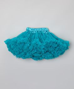 Look what I found on #zulily! Teal Couture Pettiskirt - Infant & Toddler by Chicaboo #zulilyfinds