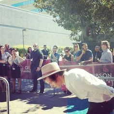 Harry Styles on the Red Carpet for the TCA's