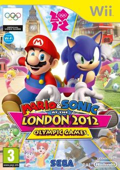 Wii Mario & Sonic at the London 2012 Olympic Games