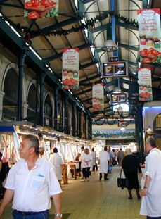 The Central Market in Athens
