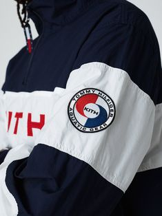 Kith x Tommy Hilfiger Collection Sailing Jacket, Sailing Gear, Mens Cotton Shorts, Red Long Sleeve Shirt, Boys Shirts, Jackets, Clothes, Polo Tees, Hypebeast