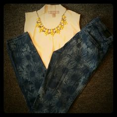 Selling this Guess Sunflower Denim in my Poshmark closet! My username is: dreamcatcher088. #shopmycloset #poshmark #fashion #shopping #style #forsale #Guess #Denim