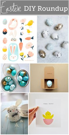 Easter DIY Roundup- Bungalows & Olives  http://www.bungalowsandolives.com/easter-diy-roundup/