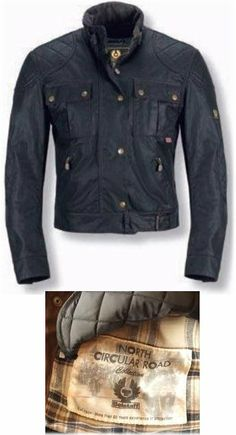 Belstaff Mojave Waxed Cotton Jacket - British Motorcycle Gear