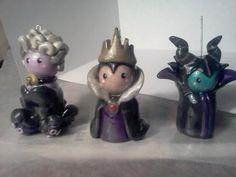 Maleficent Chibi Mini Figurine. Sleeping Beauty. Disney. $20.00, via Etsy.