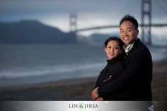San Francisco Engagement Photography   San Francisco Bridge