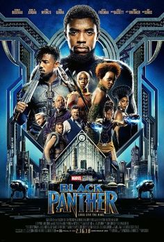 Marvel's latest film, Black Panther, was incredible! I can easily confirm that this new film is in my top 3 Marvel movies of all time. Black Panther delights with a. Black Panther Marvel, Black Panther Movie Poster, Black Panther Character, Black Panther 2018, Hd Movies Online, 2018 Movies, New Movies, Movies To Watch, Good Movies