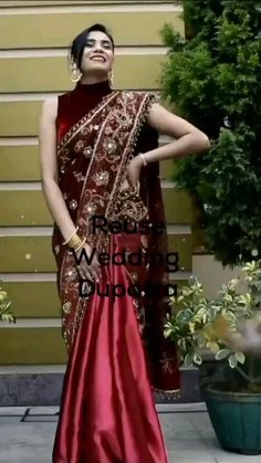 Party Wear Indian Dresses, Indian Bridal Outfits, Indian Fashion Dresses, Trendy Sarees, Stylish Sarees, Stylish Dresses, Saree Wearing Styles, Saree Styles, Sari Draping Styles