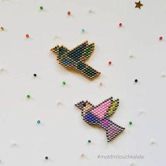 Les petits oiseaux origami. Deux modèles différents à décliner à l'infini ! #miyukibeads #miyuki #perlesmiyuki #miyukiaddict #brickstitch #perlesaddict #beadsaddict #beading #jenfiledesperlesetjassume #jenfiledesperlesetjaimeca #handmade #perlesaddictanonymes #jesuisunesquaw #tissageperlesmiyuki #motifmilouchkalala #bird #birds #oiseau #oiseaux #oiseauorigami #oiseauxorigami