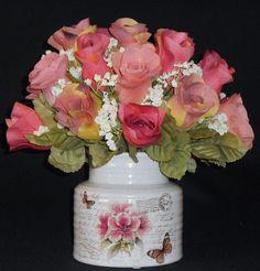 Artificial Flower Arrangement MultiShades of by BeautyEverlasting, $29.95