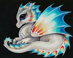 Diamond art is beautiful and we've got the best diamond painting kits around! Check out our what is diamond painting guide for diamond painting tips Pet Anime, Dragon Artwork, Dragon Pictures, Dragon Pics, Cute Dragons, Magical Creatures, Animal Drawings, Fantasy Art, Baby Dragon Tattoos