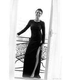 The Dress! The Slit! The Leg!  Garance Dore - one of my favorite photographers/style bloggers. And, she's hilarious.