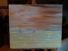 Mais uma pintura.