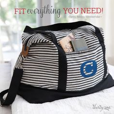 Do you love to travel? This month you can get this bag for 60% off! Click on the picture to visit my website. You can join my VIP group on Facebook to hear about the best deals, get ideas for using products, exclusive pictures and videos, and to have fun. m.facebook.com/.... #purse #thirtyonegifts #thirtyone #embroidery #monogram #totes #organization #bags #organization #wallet #HostessWithTheMostest #IGetPaidToParty