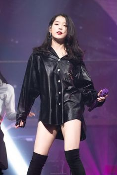 Stage Outfits, Kpop Outfits, Korean Outfits, Sexy Outfits, Iu Fashion, Korean Fashion, Fashion Outfits, Iu Short Hair, Korean Girl