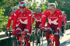 Team Katusha (RUS) De la transformation radicale du maillot de Katusha aux ajustements de Movistar ou de Sky, suite de notre tour d'horizon des tuniques du peloton 2016. De la transformation radicale du maillot de Katusha aux ajustements de Movistar ou...