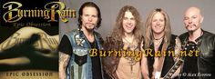 Burning Rain / Burning Rain - Japan facebook cover photo - April 2015