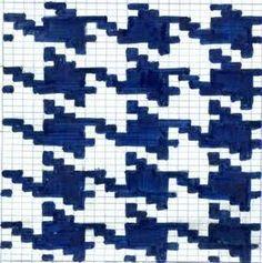 「かぎ針編み 千鳥模様」の画像検索結果