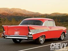 1957 Chevrolet Bel Air.Sport Coupe.