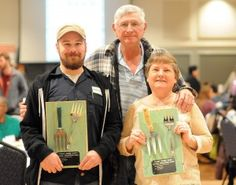 Manna chef Jameson Chavez and farmers Jim and Rose Mary Lofts of Triple J Farm won Feast Down East's 2015 Agrarian Stewardship Award for their dedication to supporting local food systems. Paul Stephen/StarNews