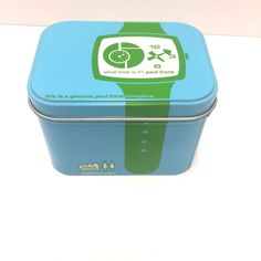 Paul Frank Blue Tin ONLY Used For Watch Storage In Great Condition