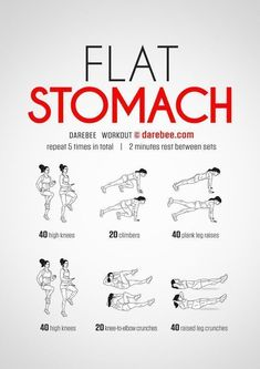 """Flat stomach  """"Top 10 Awesome Workouts to Get You In Shape and Lose Weight Fast & Easy  """" #FastWeightLossWomen"""