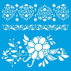 Stencil Litoarte – PalacioDaArte Stencils, Decals, Tapestry, Home Decor, Haberdashery, Arabesque, Flowers, Hanging Tapestry, Tags