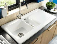 Liscio 1.5B Ceramic Sink | Astracast