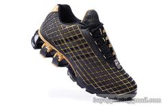 Men's Adidas Porsche Design 5 Running Shoes Black Gold|only US$85.00 - follow me to pick up couopons.