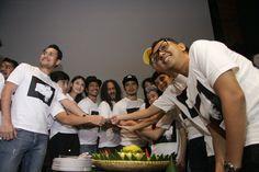 Syukuran produksi film Rembulan Tenggelam di wajahmu (foto by kicky herlambang/guritanews.com)