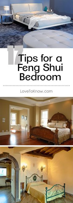When you make the decision to design and decorate rooms in your home based on feng shui, don't skip the bedroom. Follow guidelines for this room when you are choosing colors, placing furniture, and adding accents. | 17 Tips for a Feng Shui Bedroom from #LoveToKnow