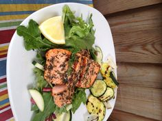 Conscious Cleanse – Grilled Steelhead Trout