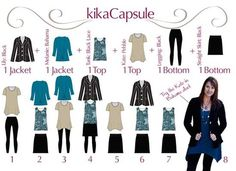 Pictures - KikaPaprika makes capsule dressing simple and stylish - Ann Arbor Green fashion | Examiner.com