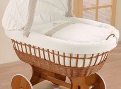 Nature Dreams Bassinet from Baby Doll at aBaby. We offer Baby Doll Nature Dreams Bassinet for your baby at great prices. Baby Basinets, Baby Sleep, Side Sleeping Crib, Moses Basket Stand, Bedside Crib, Baby Equipment, Comfort Mattress, White Wicker, Baby Needs